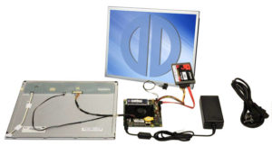 "Plug & Play SBC Kit solutions with industrial TFTs sized 10.4"" to 23"""