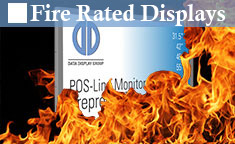 Fire Rated Displays | Industrial Monitors