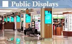 Public Displays | Industrial Monitors