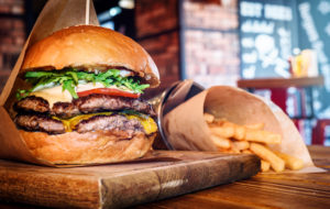 Burger and Fries | Custom Digital Signage